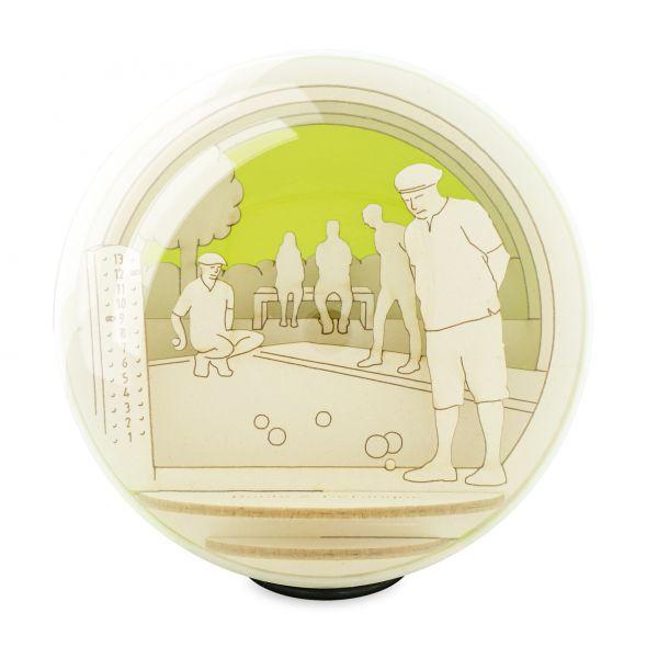 Silhouette-Globe-Boule