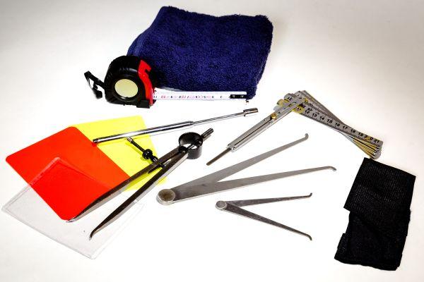Aktive Schiedsrichter Werkzeug Set