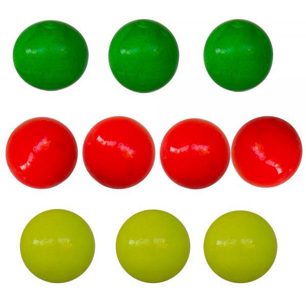 10er Spar Pack - Bunte Zielkugeln