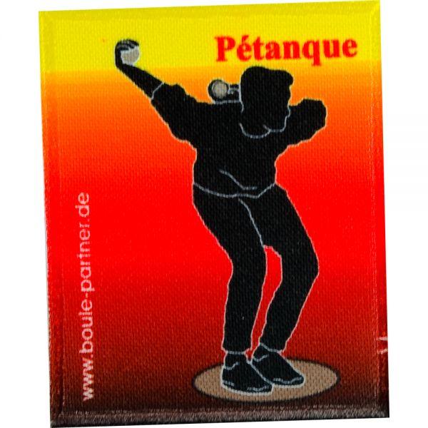 """Aufnäher """"Pétanque"""""""