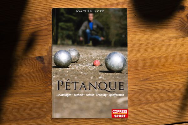 """Buch """"Pétanque Grundlagen, Technik, Taktik, Training,Spielformen"""""""