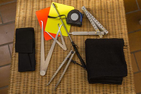 Schiedsrichter Werkzeug Set