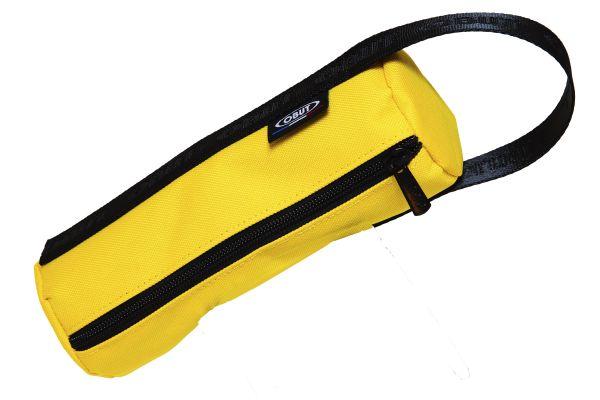 Vinyl-Leinen-Tasche - gelb