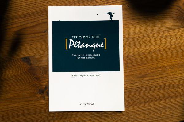 """Buch """"Zur Taktik beim Pétanque"""""""