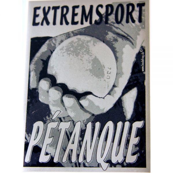"""Sticker """"Extremsport"""" - silber"""