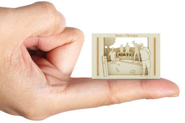 Miniature-Silhouette Boule