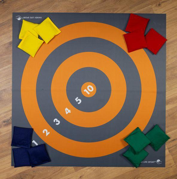 Floor Target Mat & 12 Beanbags